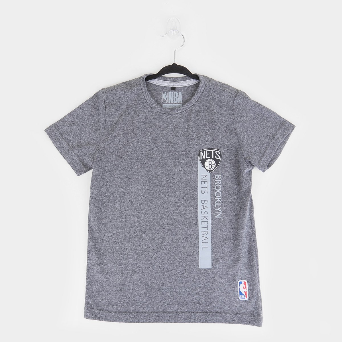 Camiseta Juvenil NBA Brooklyn Nets Flush Bronet Masculina