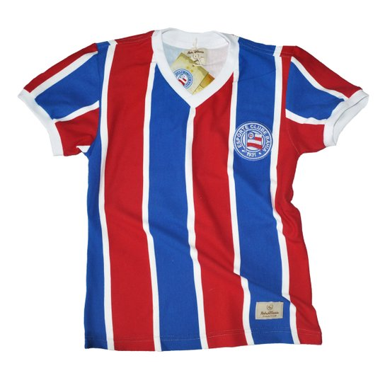 c105c8c222173 Camisa Retrô Mania Juvenil EC Bahia 1988 - Azul e Vermelho - Compre ...