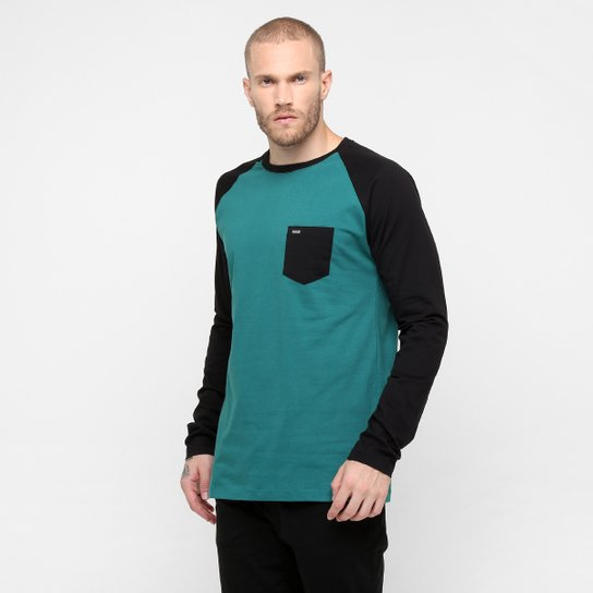 Camiseta Hurley Raglan One   Only M L - Compre Agora  90cf85bf73b