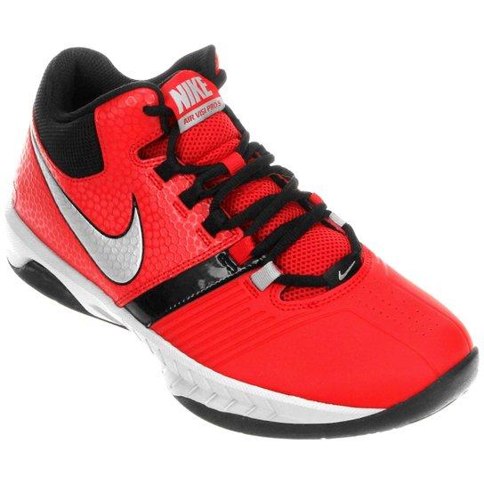 23d755b7c5f Tênis Nike Air Visi Pro 5 - Vermelho+Preto
