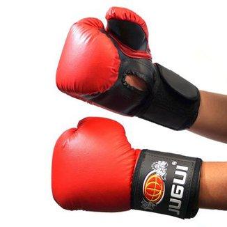 Luva Boxe Muay Thai Kickboxing Combate Importado Jugui - 10oz d48446cd455a7