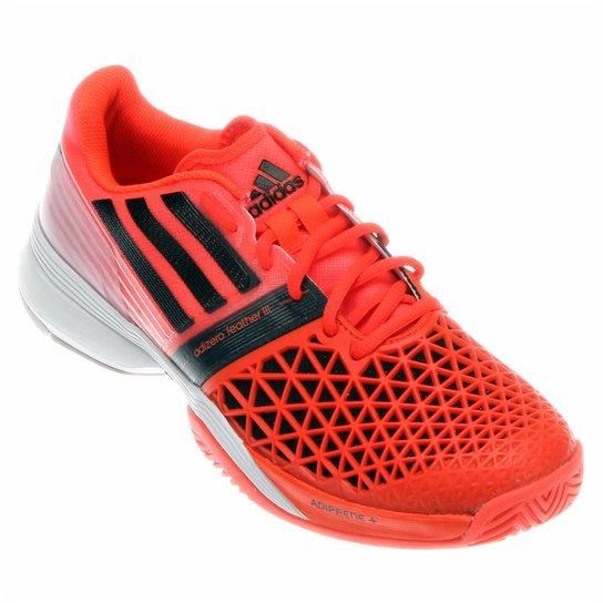 Tênis Adidas CC Adizero Feather 3 - Vermelho+Preto 9255df41a0884