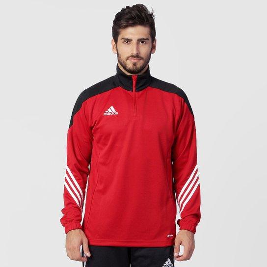 Moletom Adidas Sere 14 Masculino - Vermelho+Preto 8a5e40d793956
