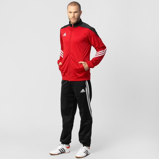 Agasalho Adidas Sere 14 Masculino - Vermelho+Preto bbbc2205fde05