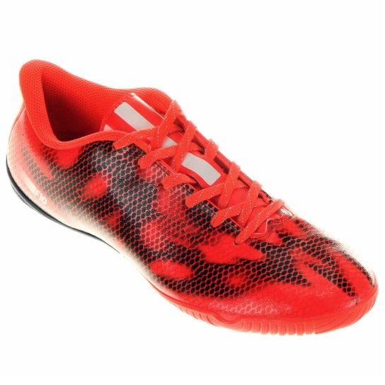 Chuteira Adidas F10 IN Futsal - Laranja Escuro 7ca96018d655e