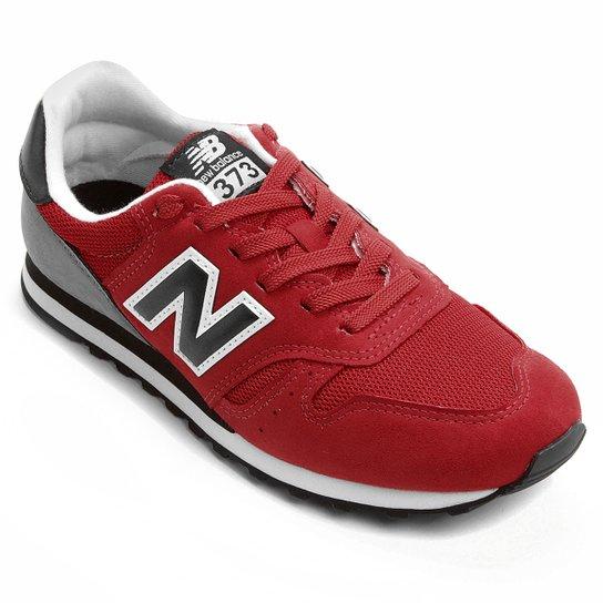 7952984ddc0 Tênis New Balance 373 Retrô - Vermelho+Preto