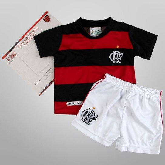 Conjunto Flamengo Sublimado c  2 peças Infantil - Compre Agora ... 29892f91332f0