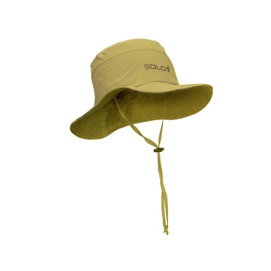 Chapéu Solo Explorer Australiano - Cáqui - Compre Agora  a2a498c3946