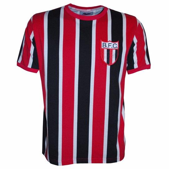 Camisa Liga Retrô Botafogo SP 1977 - Vermelho+Preto 5886aafe40b8a
