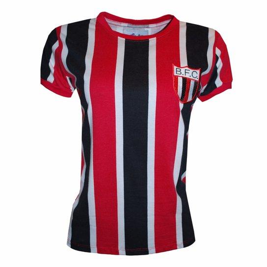 531f972bd7c1f Camisa Liga Retrô Botafogo SP 1977 - Vermelho e Preto - Compre Agora ...