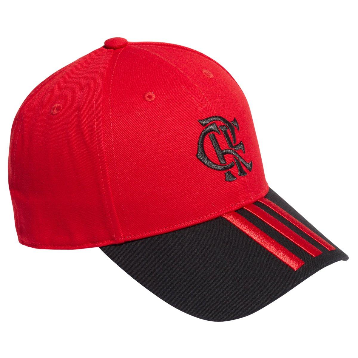 Boné Adidas Flamengo Aba Curva Snapback Cr