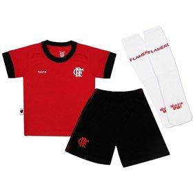 Conjunto Flamengo Sublimado Micro Dry Torcida Baby - Compre Agora ... d70f290a81379