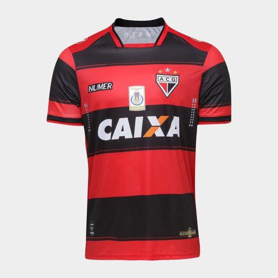 Camisa Atlético Goianiense I 17 18 s nº Torcedor Numer Masculina - Vermelho+ b1be4de4dfb27