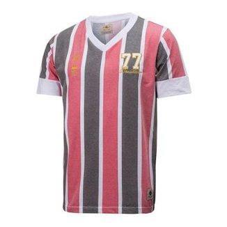 Camisa Retrô Gol São Paulo Réplica 77 Brasileiro 261466aa8bbf0