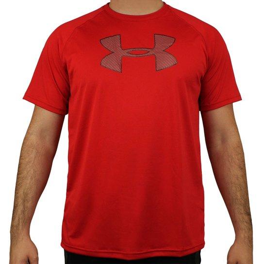 dbb0b755131 Camiseta Under Armour Brazil Big Logo SS - Vermelho+Preto