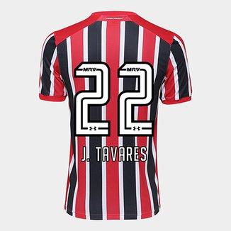 Camisa São Paulo II 17 18 nº 22 J. Tavares Torcedor Under Armour Masculina ea64a8360debf