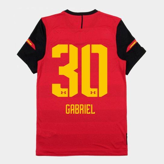 1f1592b665 Camisa Sport Recife I 2018 Nº 30 Gabriel - Torcedor Under Armour Masculina  - Vermelho+