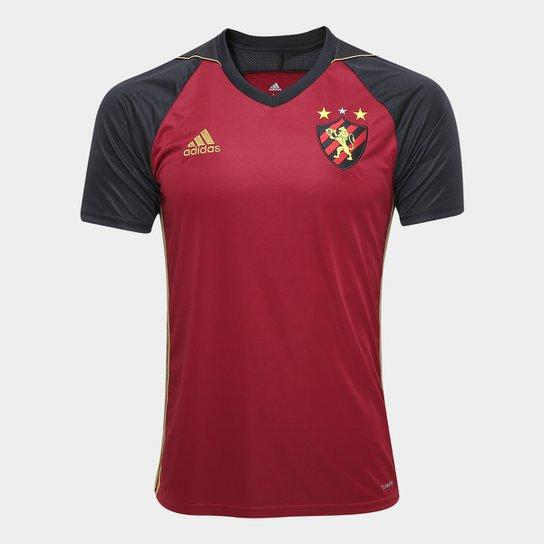 2232e44f3 Camisa Sport Recife III 17/18 s/nº - Torcedor Adidas Masculina - Vinho