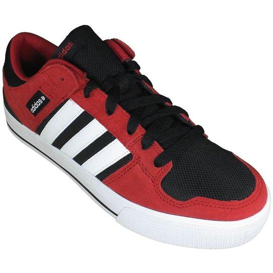 0dc2fed9362 Tênis Adidas Hoops ST - Vermelho+Preto