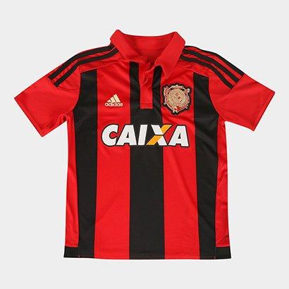 Camisa Adidas Sport Recife I 15/16 s/nº Infantil C/ Patrocínio