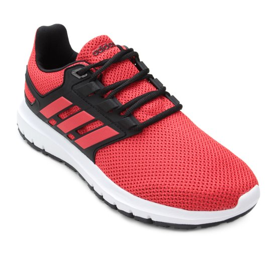 Tênis Adidas Energy Cloud 2 Masculino - Vermelho e Preto - Compre ... e358f15d074