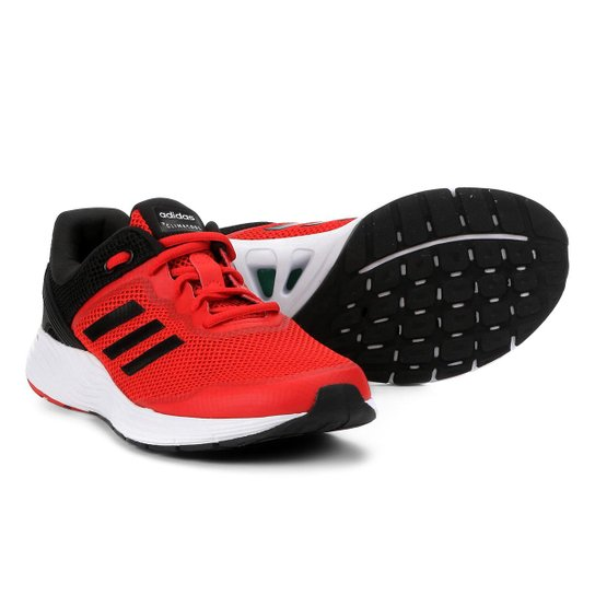 2e33b74e666 Tênis Adidas Fluidcloud CC Ambitious Masculino - Vermelho+Preto