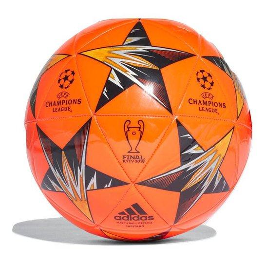 Bola Futebol Campo Adidas Finale Kiev Capitano - Vermelho e Preto ... 1a8430b5acf65