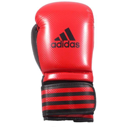 c0e67c727 Luva de Boxe Adidas Power 200 - 10 Oz - Vermelho+Preto
