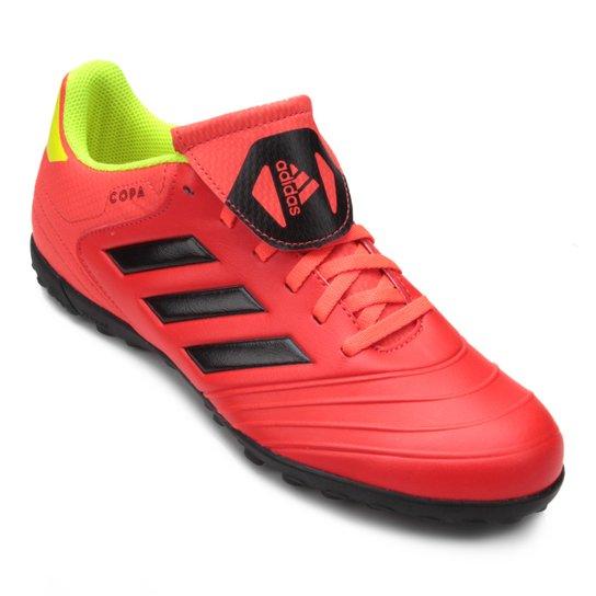 58cee1d594 Chuteira Society Adidas Copa Tango 18 4 TF - Vermelho e Preto ...