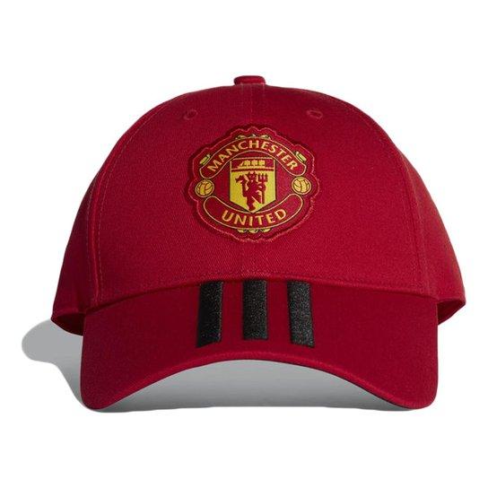 c9dcc140665b9 Boné Adidas Manchester United 3Stripes Aba Curva - Compre Agora ...