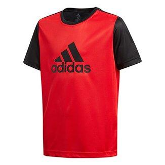 Compre Camisa Adidas Infantil Online  63bab84cd6d75