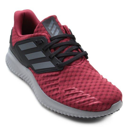 e7d1836b6cd Tênis Adidas Alphabounce RC Masculino - Vermelho e Preto - Compre ...