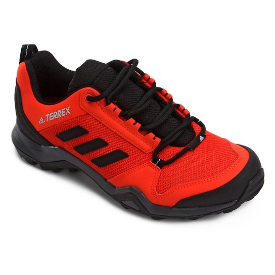 f8f2bcf4ba Tênis Adidas Terrex Ax3 Masculino - Vermelho e Preto - Compre Agora ...