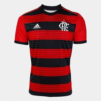 117234c01f Camisa Flamengo I 18 19 s n° Torcedor Adidas Masculina