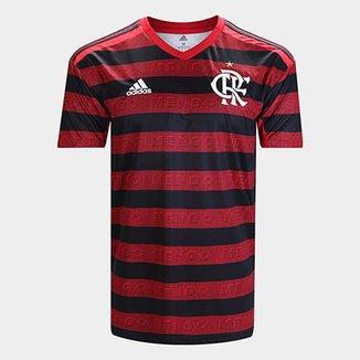 376de6434 Camisa Flamengo I 19 20 s n° Torcedor Adidas Masculina