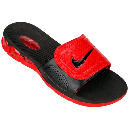 076f536c34af9a Sandália Nike Air Experience Slide - Vermelho+Preto