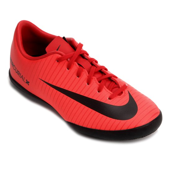d84408ebe7 Chuteira Futsal Infantil Nike Mercurial Vapor XI IC - Vermelho e ...
