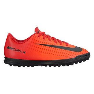 Compre Chuteira Infantil Nike Mercurial Vortex Online  9b132ddfb474b