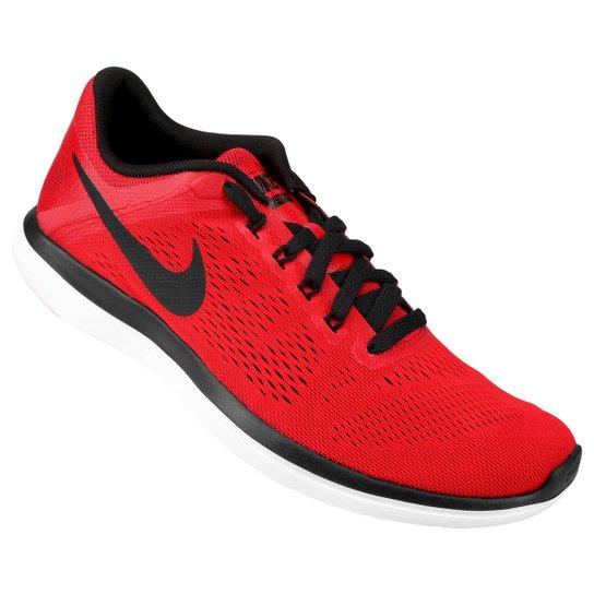 423efd4136 Tênis Nike Flex 2016 RN Masculino - Vermelho+Preto