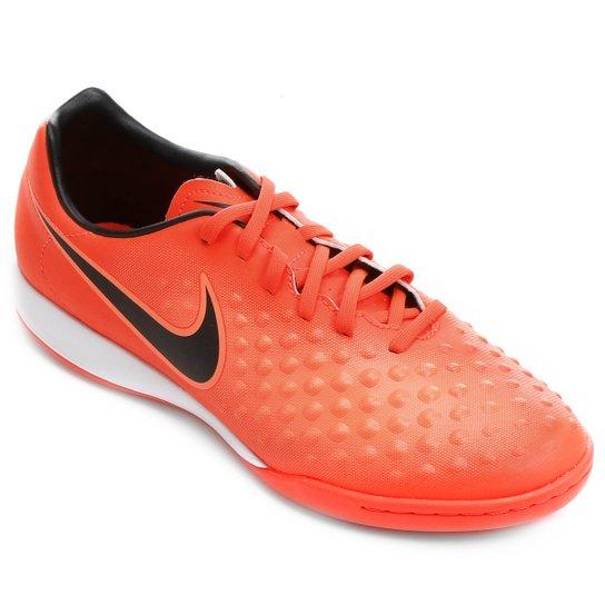 115bc26cef Chuteira Futsal Nike Magista Onda II IC - Vermelho e Preto - Compre ...
