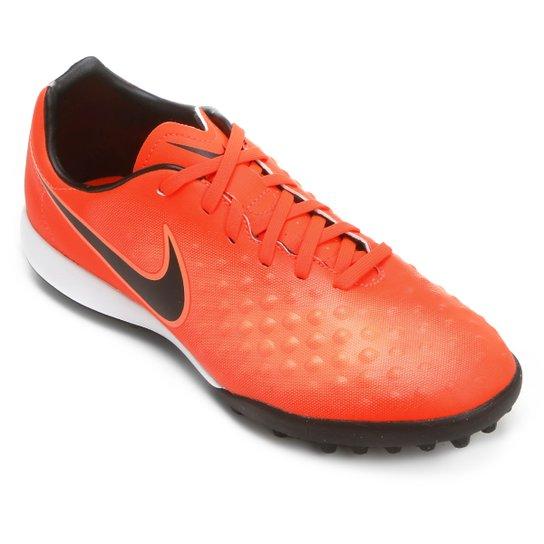 6eff7b23e9 Chuteira Society Nike Magista Onda II TF - Vermelho e Preto - Compre ...