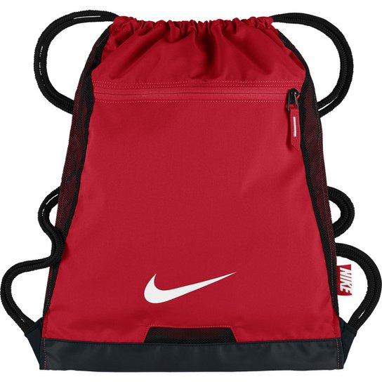 df5587281 Sacola Nike Alpha Adapt Masculina - Vermelho+Preto