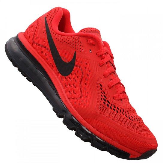 5c3e7affb97 Tênis Nike Air Max 2014 - Vermelho+Preto
