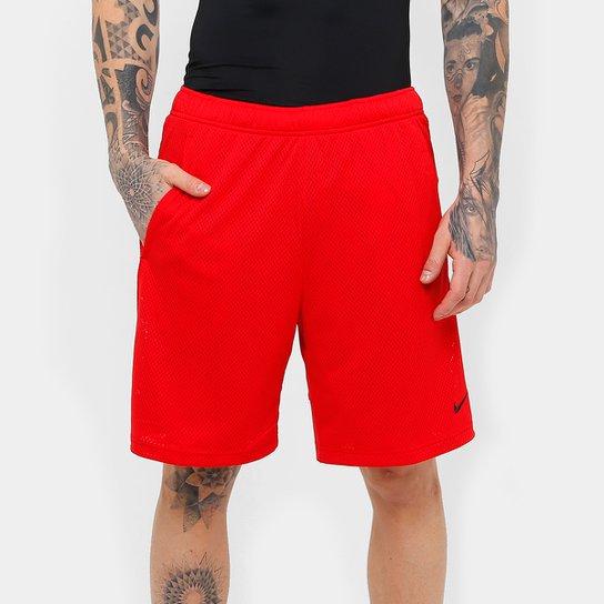 b981b357a7 Bermuda Nike Monster Mesh Masculina - Vermelho e Preto - Compre ...