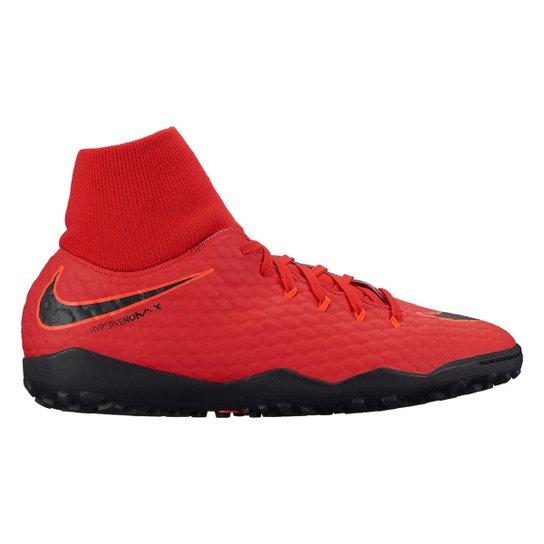 2c7378e1130 Chuteira Society Nike Hypervenom Phelon 3 DF TF - Compre Agora ...