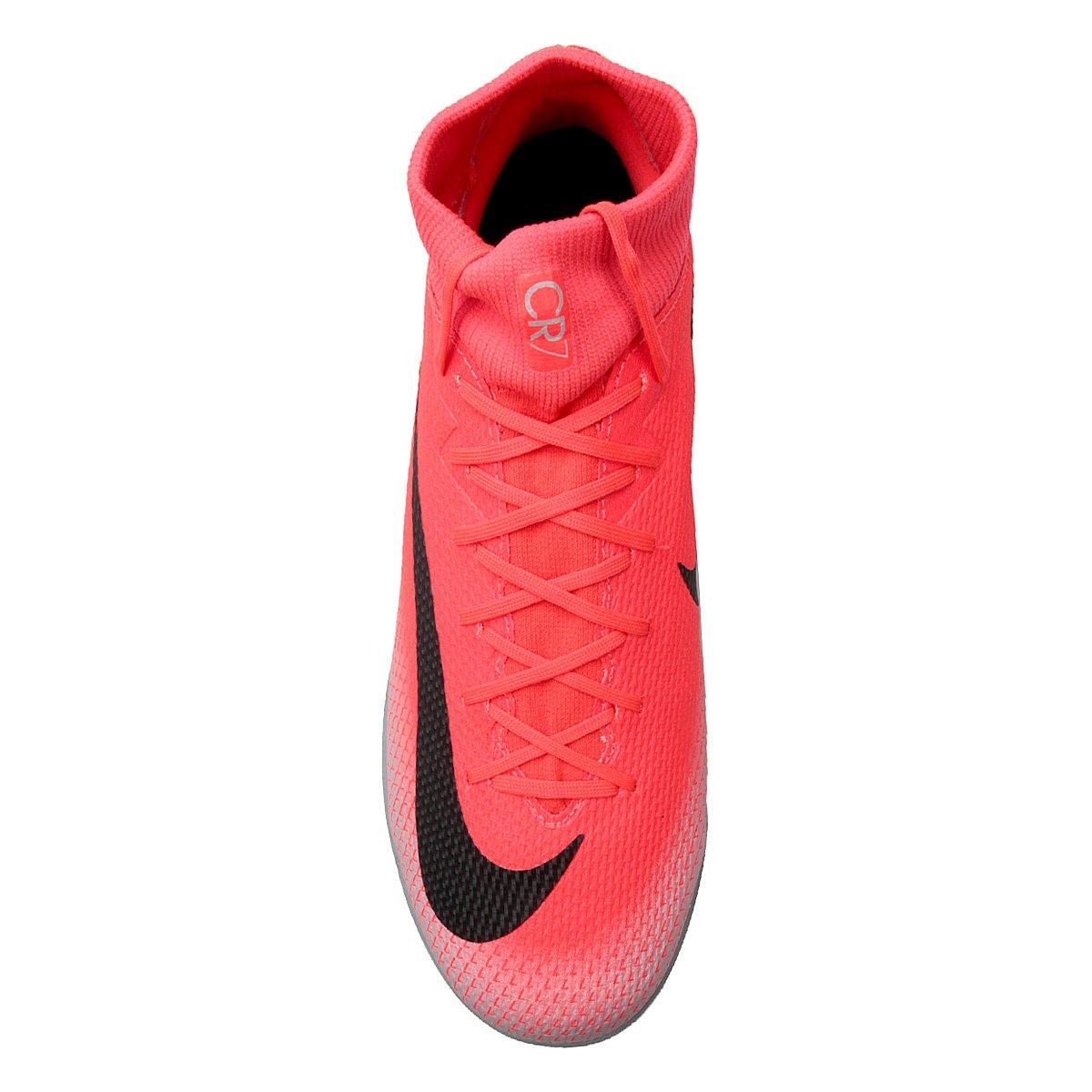 e8f69e2259 Chuteira Futsal Nike Mercurial Superfly 6 Academy CR7 IC - Tam  44 ...