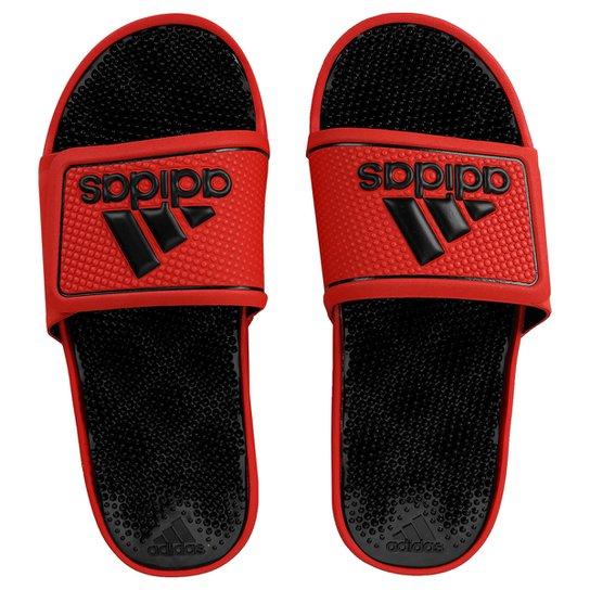 05b24ba2fddd Chinelo Adidas Adissage 2 M Logo - Vermelho+Preto