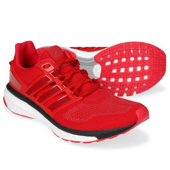 73b4ffb2c3 Tênis Adidas Energy Boost 3 Masculino - Vermelho e Preto - Compre ...