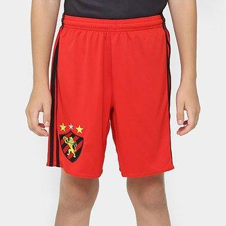 Calção Sport Recife Infantil 16 17 Adidas Masculino 99bed7880c58b