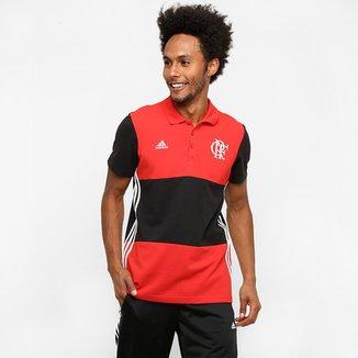 f00ce89d64 Camisa Polo Flamengo Adidas 3S Masculina
